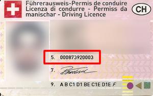Wo finde ich die ausweisnummer